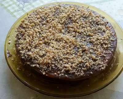 Лесен вариант на торта Медовик