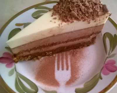 """Торта """"Три шоколада"""""""