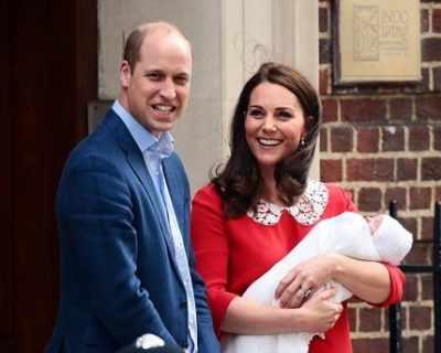 Уилям и Катрин обявиха името на третото си дете