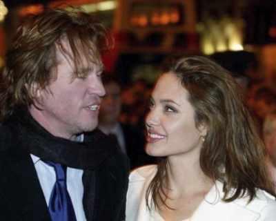 Вал Килмър бил лудо влюбен в Анджелина Джоли