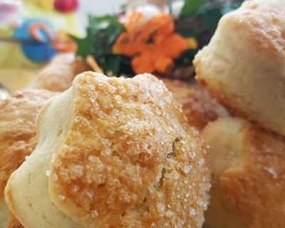 Великденски курабийки с лимонови и портокалови кори