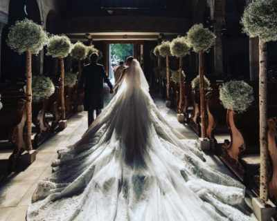 23-годишната наследница на Swarovski се омъжи в рокля за 1 ...