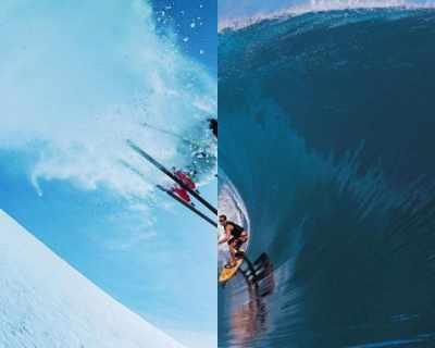 Ски VS море