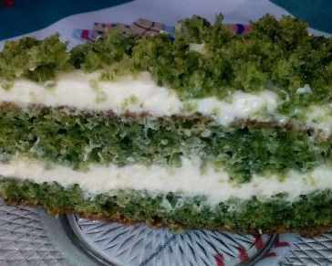Зелена торта