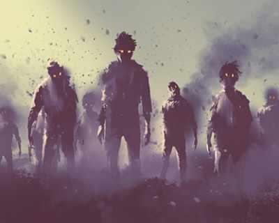 Учени: Зомбита ще унищожат хората за 100 дни