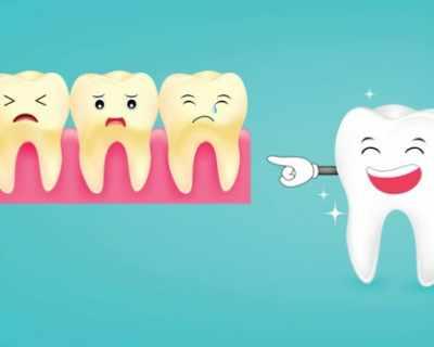 От какво пожълтяват зъбите?
